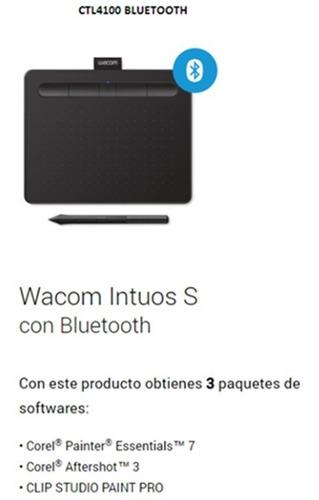 tableta wacom intuos creative pen ctl4100 small bluetooth