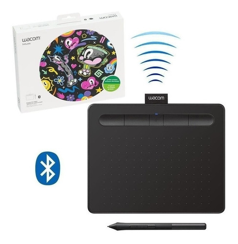 tableta wacom intuos creative pen ctl6100 bluetooth medium