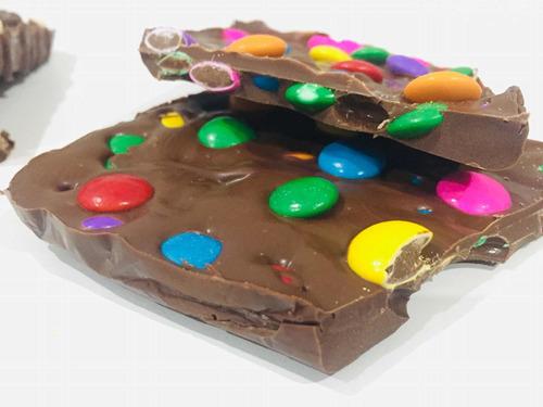 tabletas de chocolate artesanal