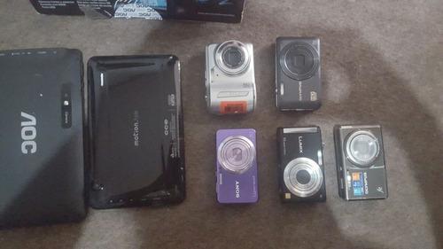 tablets e cameras digitais para concerto