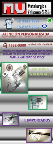 tablillas p cortinas metalicas, motores, engranajes, hierros