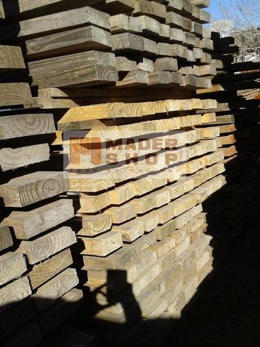 tablón andamio madera pino 2  x 0,30  x 3,05mts.- mader shop