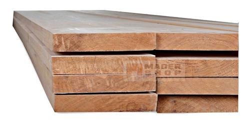 tablón andamio madera pino 2  x 0,30  x 4.00 mts.- mader shop