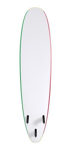tablon de surf softboard wave storm 8'0 rasta - la isla