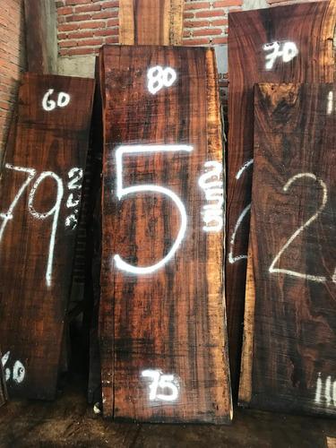 tablones de parota o planchones de guanacastle cubiertas