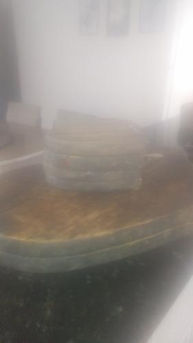 taboas de madeira artesanais