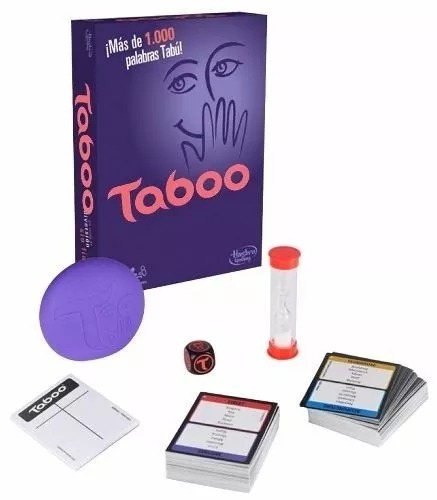 Taboo Juego De Mesa Original Hasbro Microcentro Via Color 1 595