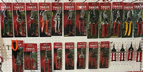 tabor tools k-7 tijeras de podar de hoja recta, tijeras de e