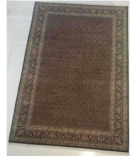 tabriz mahi 301x192cm tapete persa artesanal legitimo+certif