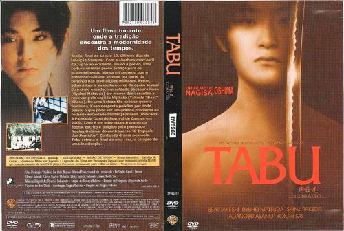 tabu - filme japonês dvd original