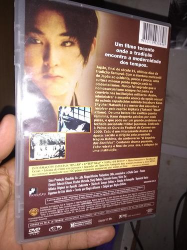 tabu filme japonês - original - frete grátis