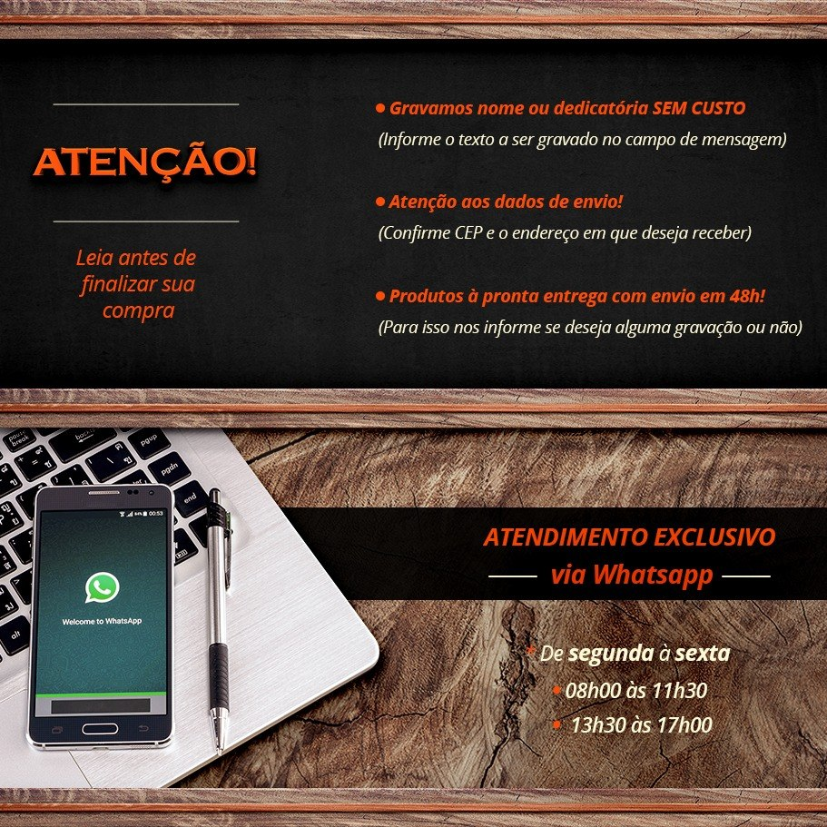 7c02fafdb6 Tabua Carne Churrasco Brasil Santos Futebol Clube 50x30x3