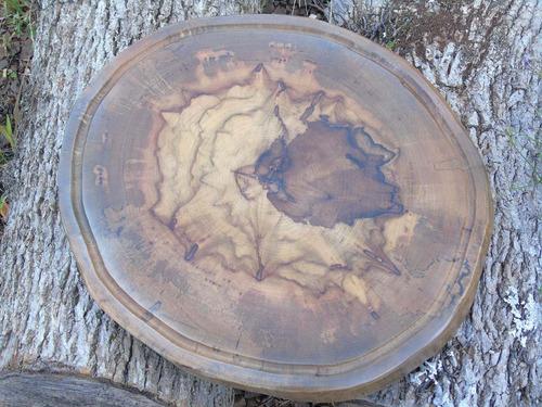 tabua de carne de churrasco rústica de bolacha 40x40x5cm