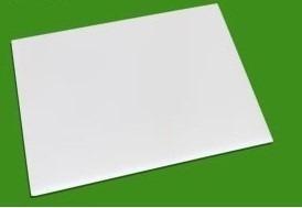 tábua de corte branca ref.1.05 50x30x1 cm plásticos futura