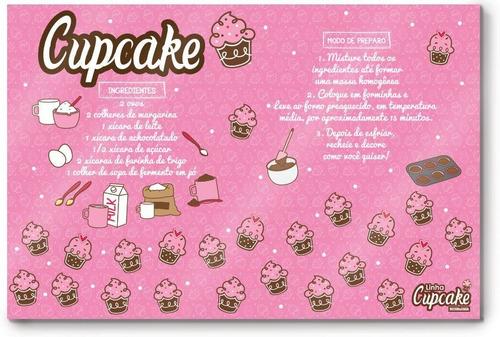 tábua de corte cupcake 20x30cm