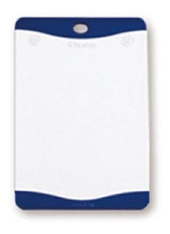 tábua de corte flutto branca 368x254mm neoflam