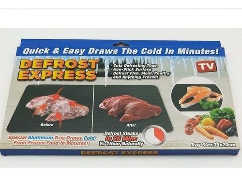 tábua descongelante de alimentos defrost express promoção