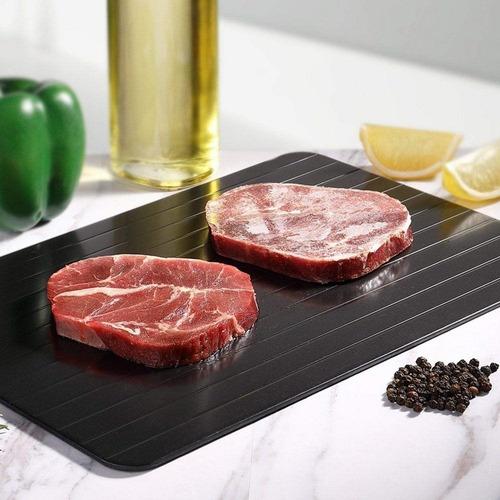 tabua mágica para descongelar carne e alimentos