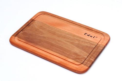 tábua p/ carne 30x19 eucal. c/ canaleta e selador