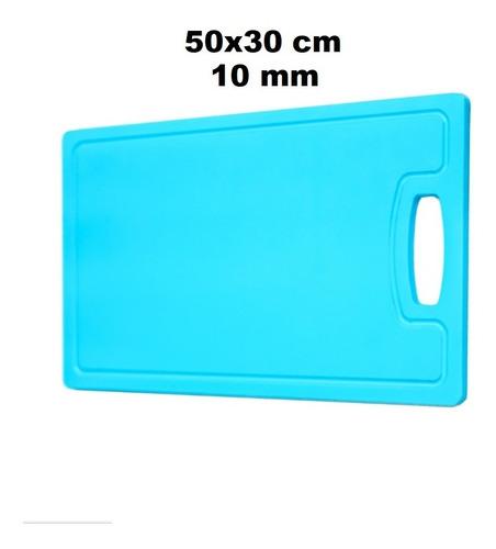 tábua placa de polietileno alimentos colorida 50x30 10mm