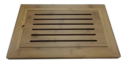 tabua pão em bambu 37x24cm maxwell & williams + nf