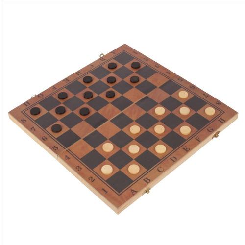 tabuleiro de xadrez 40x40cm dobrável madeira + peças