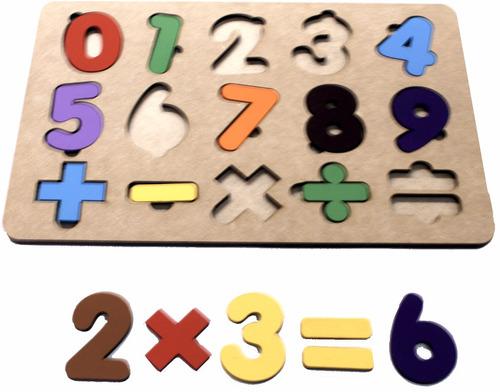 tabuleiro educativo matemática continhas aritmético escolar