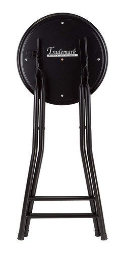 taburete banco plegable redondo acolchado 136 kg msi