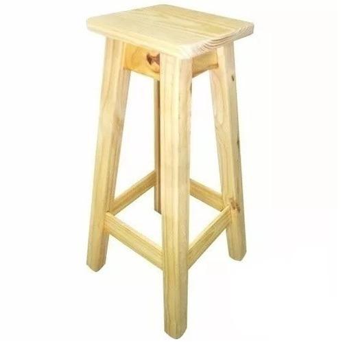 taburete banqueta alta respald hierro/madera almacen de pino