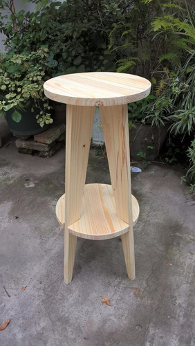 taburete escandinavo madera pino
