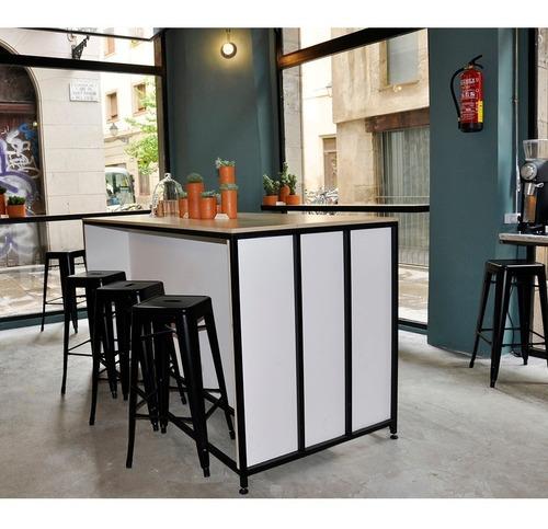 taburete tolix vintage colores hogar pub muebles oferta