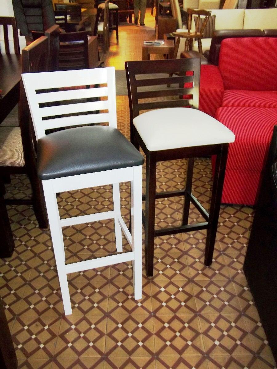 sillas de madera uruguay taburetes bancos altos para barra sillas pasaplato