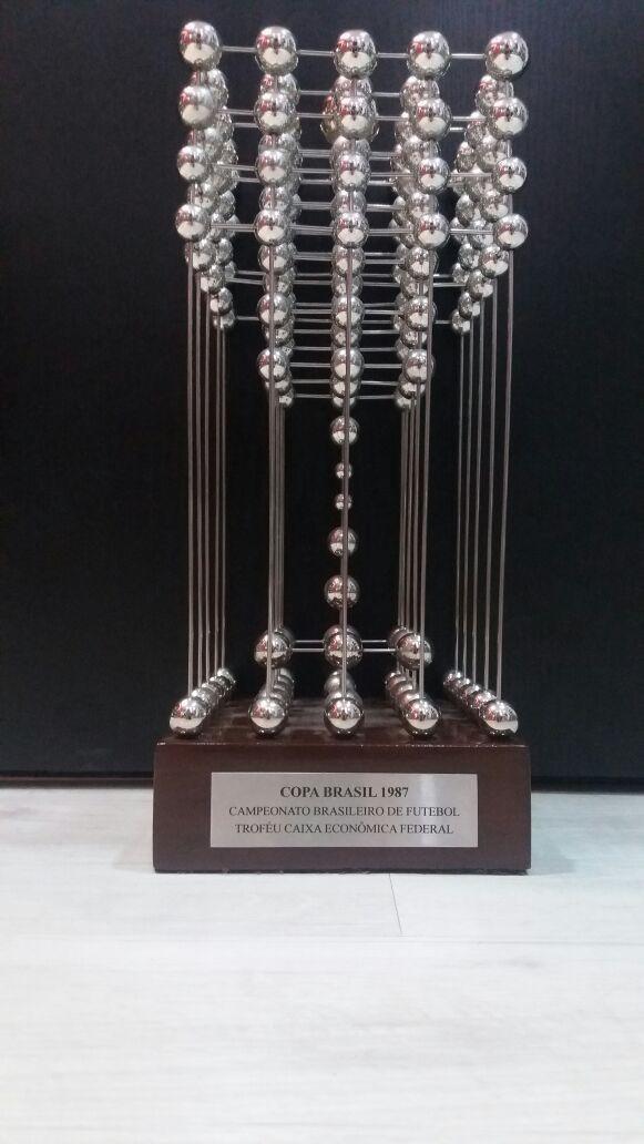 Taça Das Bolinhas - 1987 - Copa União Campeonato Brasileiro - R ... 6f3a7c1ecd3d7