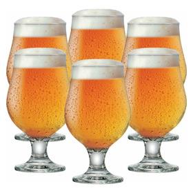 Taça De Cerveja Copo De Cerveja Jogo 380ml 6 Pcs