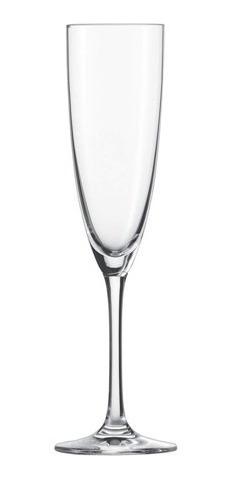 taça de cristal 6un champanhe prosecco clássico 210ml schott