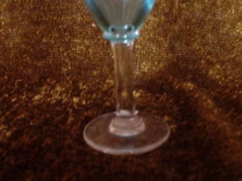 taça de vidro