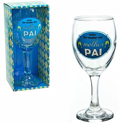 taça de vidro pai presente dia dos pais 110ml na caixa
