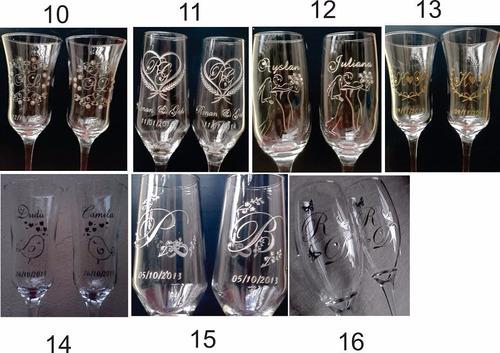 taças personalizadas brinde noivos par