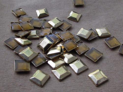 tachas para pegar con plancha varias formas bolsa x 500