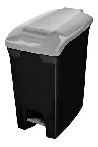 tacho basura cesto residuos con pedal 20 l san remo