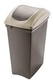 tacho basura cesto residuos tapa vaiven 70 l san remo