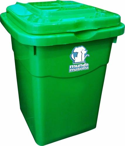 tacho contenedor para alimento de perros 21 kg / 12 cuotas