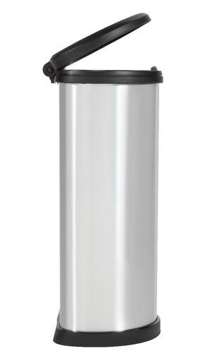 tacho de basura decobin push 40l keter - envio gratis!