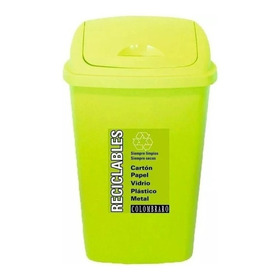 Tacho De Basura Reciclables X 25 Lts Colombraro