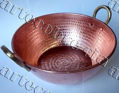 tacho de cobre 10  litros pronta entrega (temos maiores)