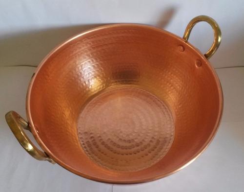 tacho de cobre (2 litros) qualidade e durabilidade