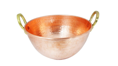 tacho de cobre puro 5 litros - entrega muito rapida!