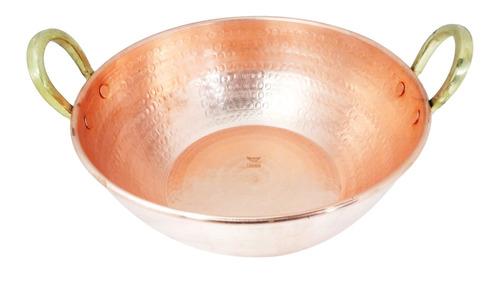 tacho de cobre puro 8 litros - imperdivel!