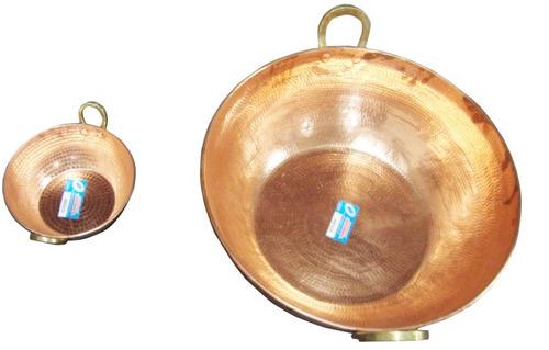 tacho de cobre puro de 2 litro 20cm diâmetro