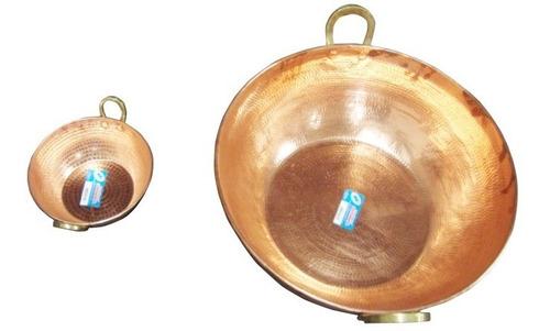 tacho de cobre puro de 80 litros 70cm diâmetro